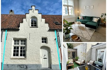 Charmant huis te huur in Brugge