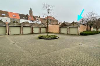 Gesloten garagebox te koop in Brugge